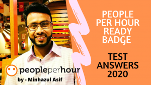 People Per Hour READY BADGE – TEST ANSWERS