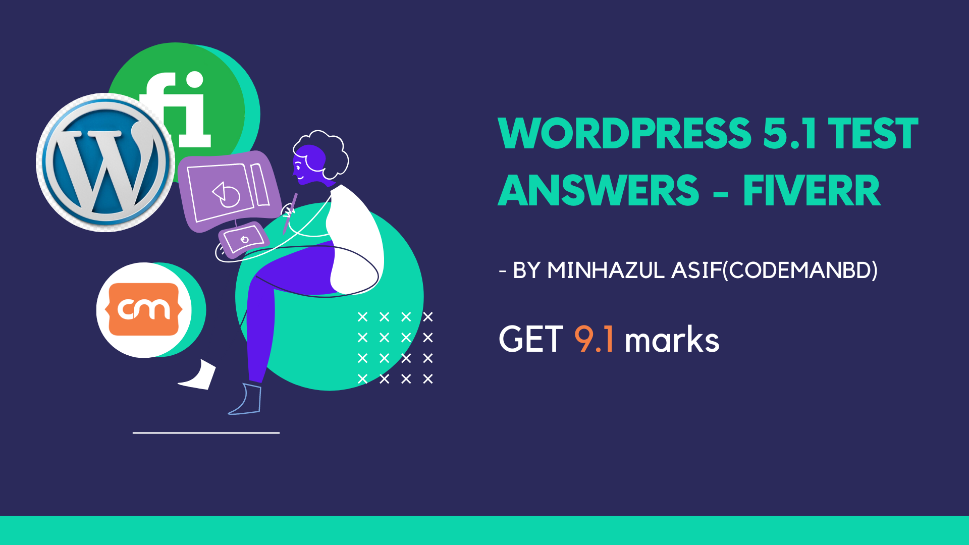 wordpress 5.1 test answer - fiverr
