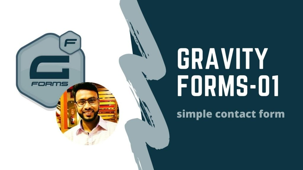 gravity form(simple contact form)