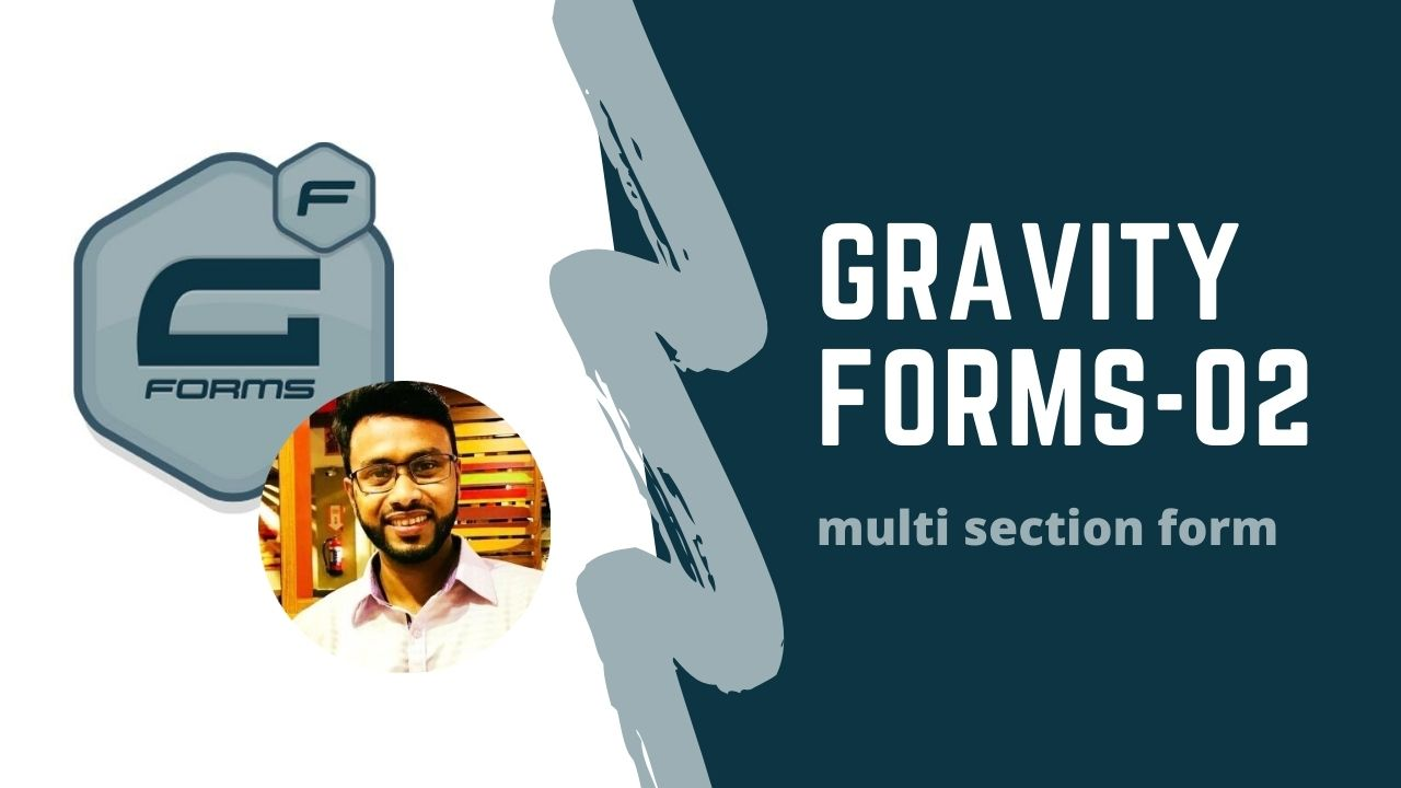 gravity form(multi section contact form)