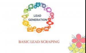 Basic lead scraping