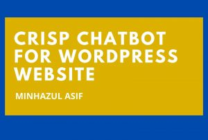 CRISP Chatbot for wordpress website